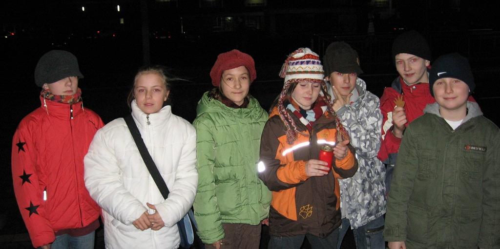 Friedenslicht '08 - Ankunft Gelnhausen